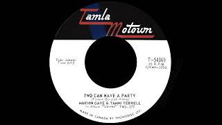Marvin Gaye & Tammi Terrell - Two Can Have A Party