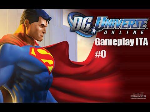 DC Universe Online – Gameplay ITA #0 – Eroe o Criminale?!