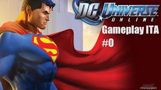 DC Universe Online - Gameplay ITA #0 - Eroe o Criminale?!