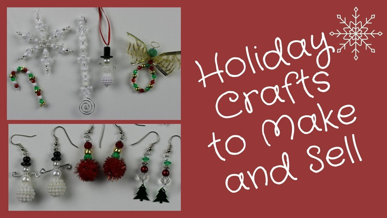 Holiday Crafts To Make And Sell At Fairs And Fundraisers Youtube