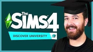 Reacting to The Sims 4 Discover University Trailer!