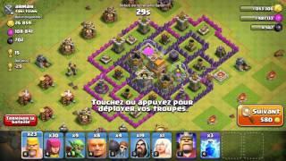 Vidéo présentation de mon clash of clans avec une petite attaque en bonus