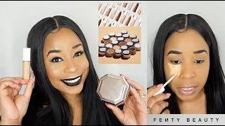Fenty Beauty Pro Filt'r Instant Retouch Concealer & Setting Powder Review