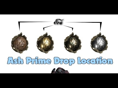Ash Prime Drop Locations ( New Era Pc and Console  Locations)