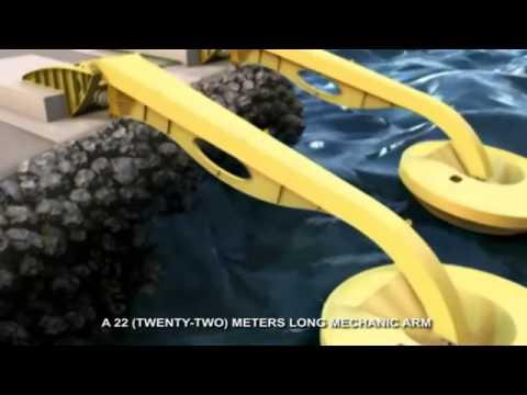 Usina de ondas (Clean Energy)