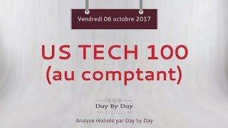 Achat US Tech 100 - Idée de trading IG 06.10.2017