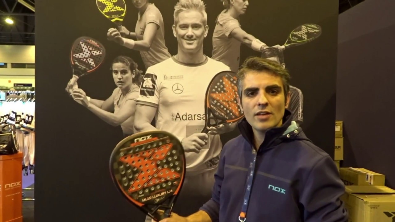 Nox Ml10 Luxury L4 La Pala De Padel De Miguel Lamperti Youtube