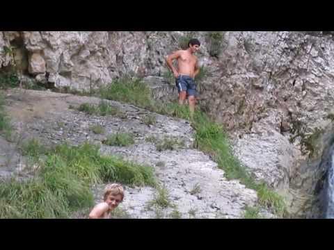 Абхазия. Армянское ущелье. Водопад.