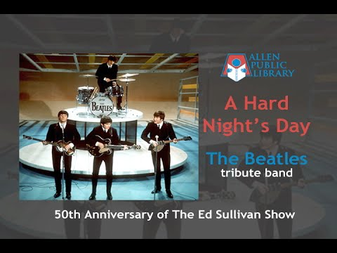 The Beatles Tribute Band - A Hard Night's Day at The Allen Library (02/07/2014)