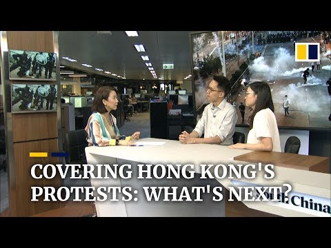 Covering Hong Kong's protests: what's next?