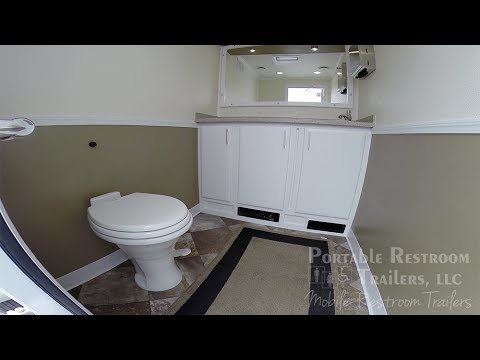 Luxury Portable Bathroom Rentals | 2 Station Mid Luxury Martinique
