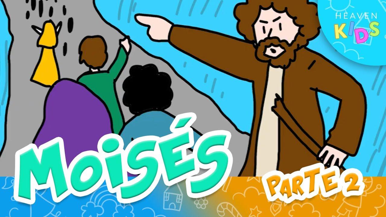 Caricaturas Para Niños | Moisés (parte 2)