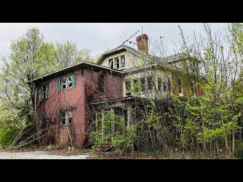Incredible Abandoned Square Brick Mansion Built in 1870