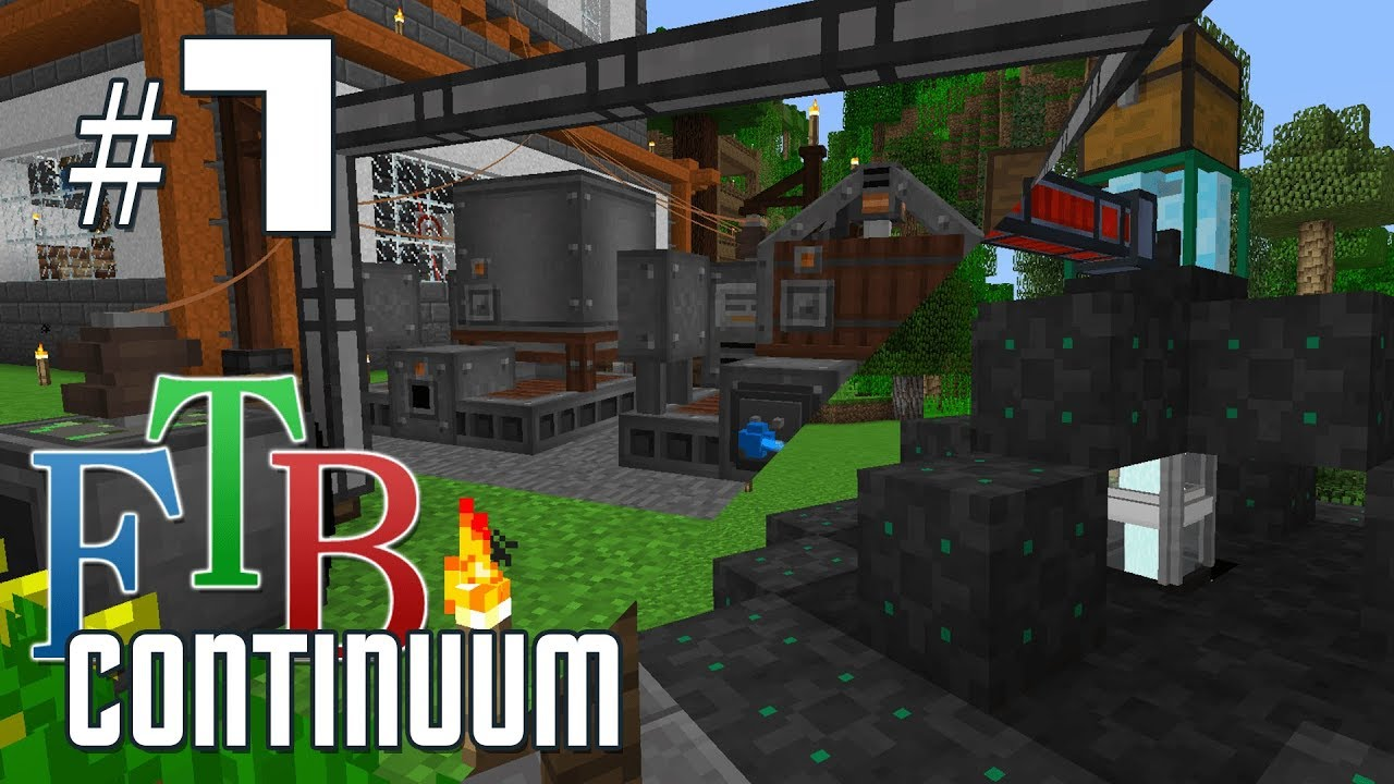 FTB Continuum #7 - Canola power and ore miner