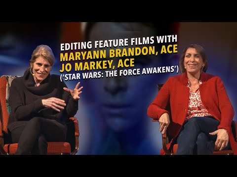 Amsterdam SuperMeet: Maryann Brandon, ACE and Mary Jo Markey, ACE (Editing Feature Films)