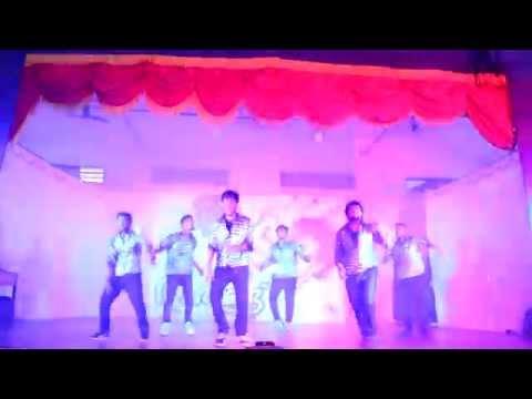 FISAT EIE  DANCE- ARANGHU - ISHQ WALA LOVE...