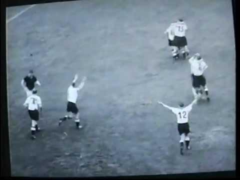 WM Finale 1954 - Das Spiel ist aus, auus, auuus !!! World Cup Final 1954; Game over ! 比赛结束
