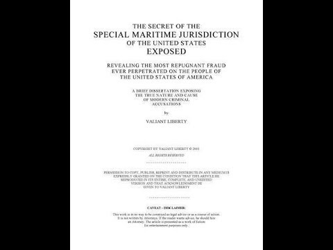 THE SECRET OF THE SPECIAL MARITIME JURISDICTION OF THE UNITED STATES EXPOSED