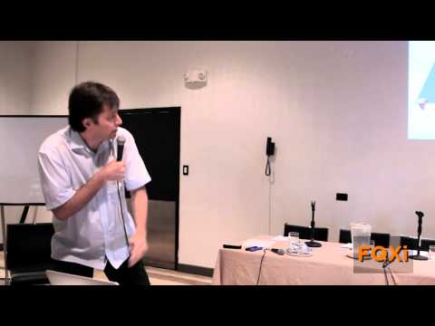 "Max Tegmark, ""Consciousness as a State of Matter,"" FQXi conference 2014 in Vieques"