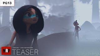 TEASER Trailer | CGI 3d Animated Short Film ** WAKAN ** Sad Fantasy Animation Movie by ISART DIGITAL