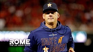 The MLB Comes Down Hard On The Astros | The Jim Rome Show