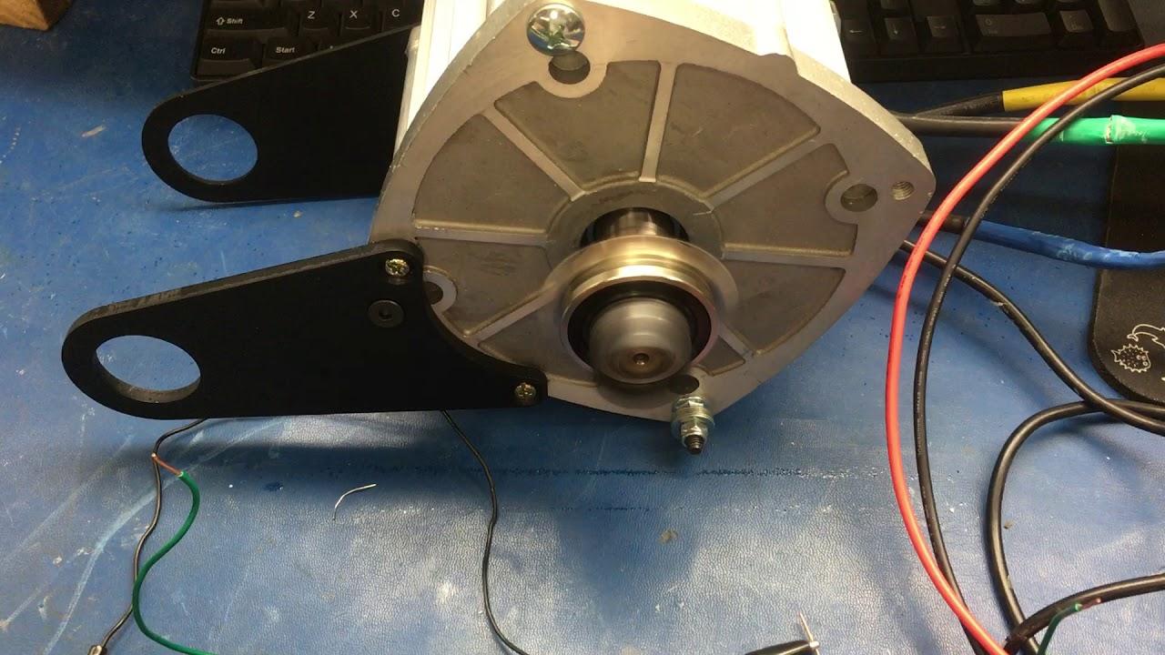 LunaCycle 7500W Motor start