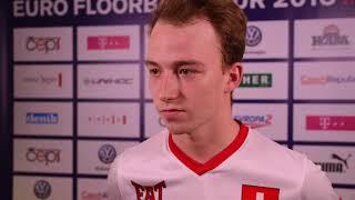 EFT 2018 | Rozhovory po utkání Švýcarsko - Finsko