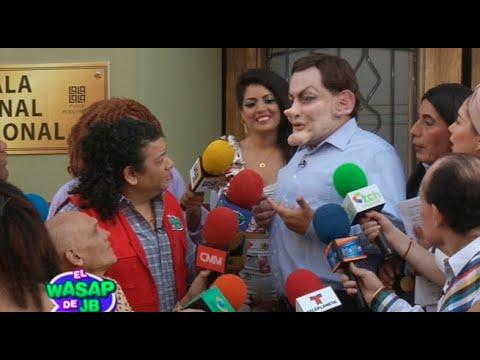 Mark Fito Mitronela recibió a la prensa y conversó con el Wasap de JB