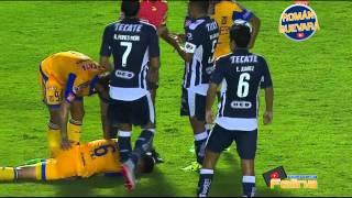 Tigres vs Monterrey 3-1 Clásico 105 Jornada 9 Apertura 2015 Liga Mx HD