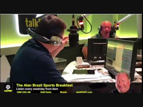 Alan Brazil Two Hours Late For Work Because Of Coca - Cola talkSPORT