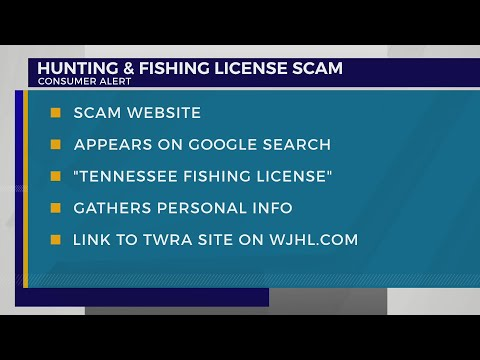 TWRA Issues Warning About Scam Website For Fishing Licenses