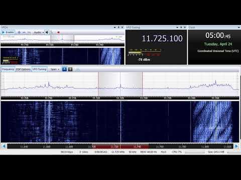 24 04 2018 Radio New Zealand Pacific in English to All Pacific 0500 on 11725 Rangitaiki