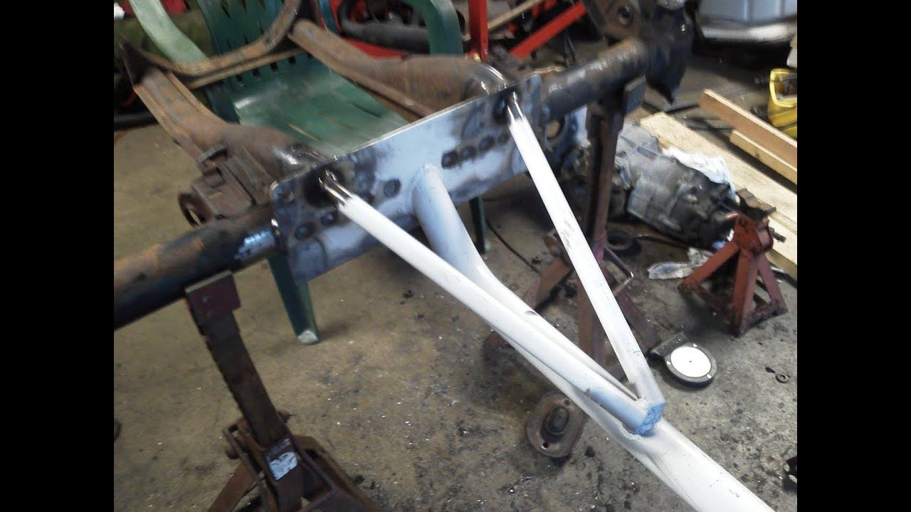 Red Baron VW Trike #16 NEW Frame from FREE Exercise Tubing ! - YouTube