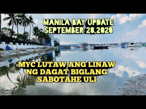 Download MANILA BAY UPDATE  PARTENG MYC LUTAW ANG LINAW NG DAGAT!BIGLANG SABOTAHE ULI!Miz July