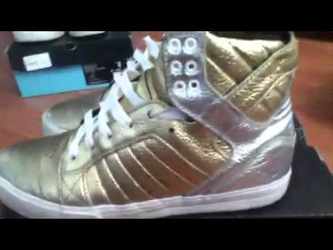 251605071a3 Three rare supra shoes - YouTube