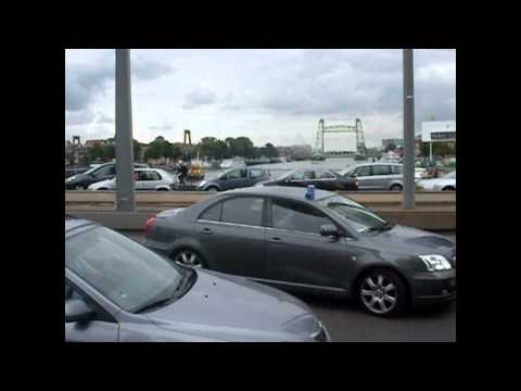 Prio 1 Undercover politie over de Erasmusbrug Rotterdam