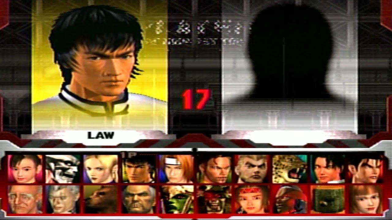 Tekken 3 Forest Law Youtube