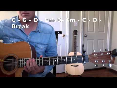 How to Play 'Break Up In A Small Town' by Sam Hunt (Acoustic version w/ Chord Chart)