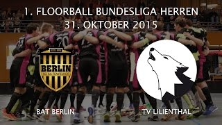 Highlights: BAT Berlin - TV Lilienthal / 6. Spieltag 2015 / 2016