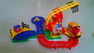 Funny Train Looping Flip Track Action Toy Set