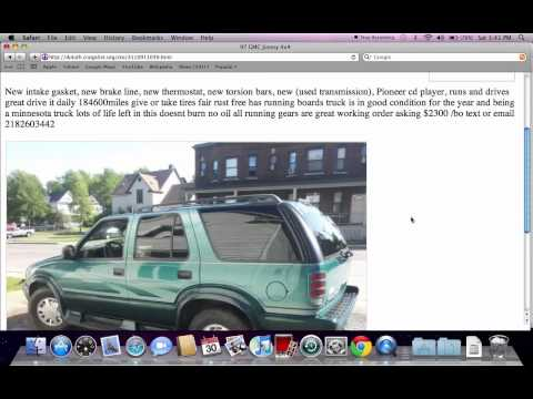 Craigslist Duluth Used Cars - Cheap Vehicles For Sale By Private Owner In July 2012