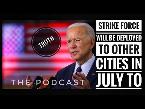 President Biden Plans Federal Strike Force Being Sent To New York City