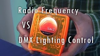 DMX vs Radio Frequency Control RGB LED Strip SIRS-E