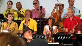 EDDY LOUISS & LA MULTICOLOR FEELING FANFARE - paris jazz festival 2011