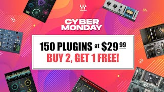 Cyber Monday Sale   150 Plugins at $29.99   Now at Waves.com