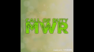 MWR Sniper montage