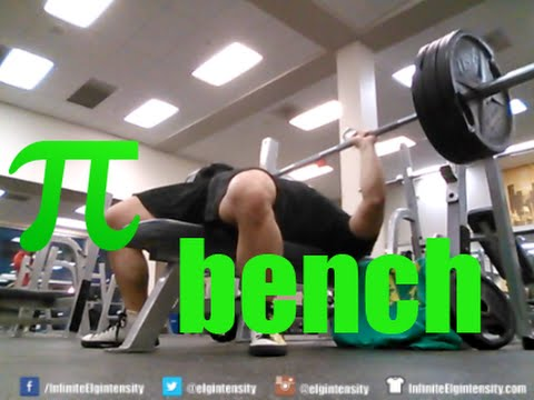 315lb. Bench Press on Pi Day Workout with Commentary