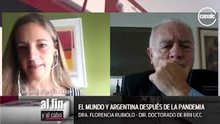 Florencia Rubiolo: El mundo y Argentina después de la pandemia