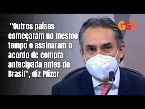 A LENTIDÃO NA COMPRA DA VACINA DA PFIZER   CPI MELHORES MOMENTOS