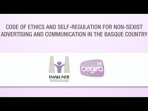 Code of ethics and self-regulation for non-sexist advertisin